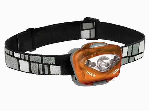 Princeton Tec Vizz LED Head Torch - Orange