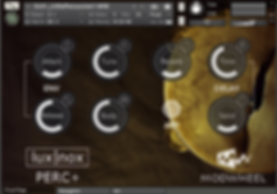 PERC+ Modwheel Percussion Virtual Instrument Kontakt