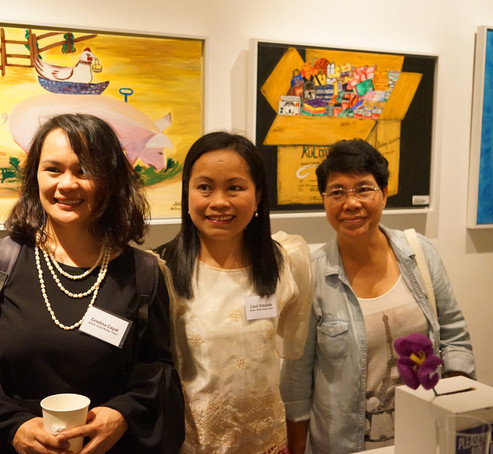 In addition to participatory art workshops we also (1) collected questionnaire data, (2) conducted interviews, (3) commissioned new art work and (4) Curated exhibitions in the UK at Goldsmiths and Keele Universities, in the Philippines at the Vargas Museum and in Hongkong at the Hive.
