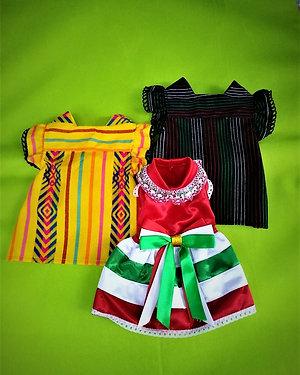 Vestidos con motivos Mexicanos