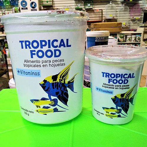 Alimento para peces tropicales