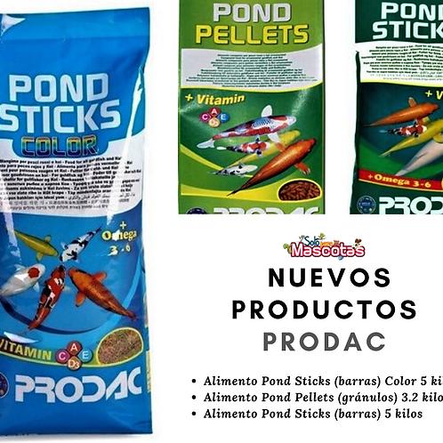 Alimento para peces de estanque