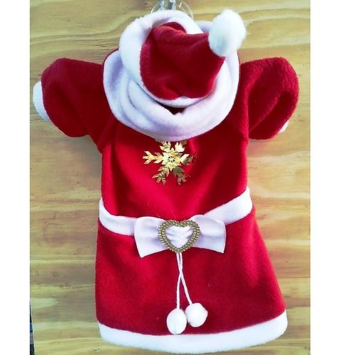 Disfraz navideño para perro