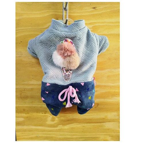 Suéter para perro hembra