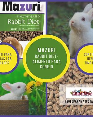 Mazuri Rabbit Diet - Alimento Para Conejo