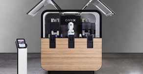 A Robot Barista that can dance - Café X