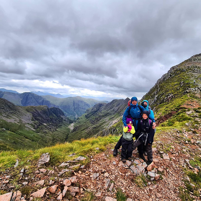 Family Mountain Adventure - Scotland