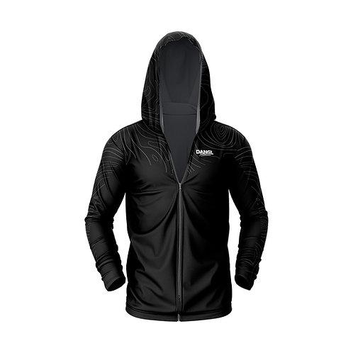 Dangl lightweight sublimated zip hoodie
