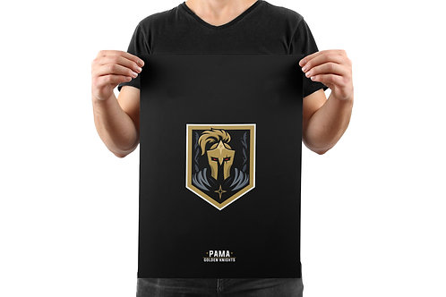 Pama Golden Knights A2 poster