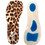 Thumbnail: D02033 Fashion Lady 3/4 Silicone Women's Insoles