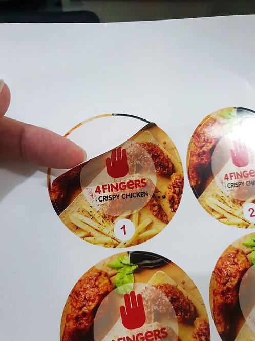 Sticker Decal PVC
