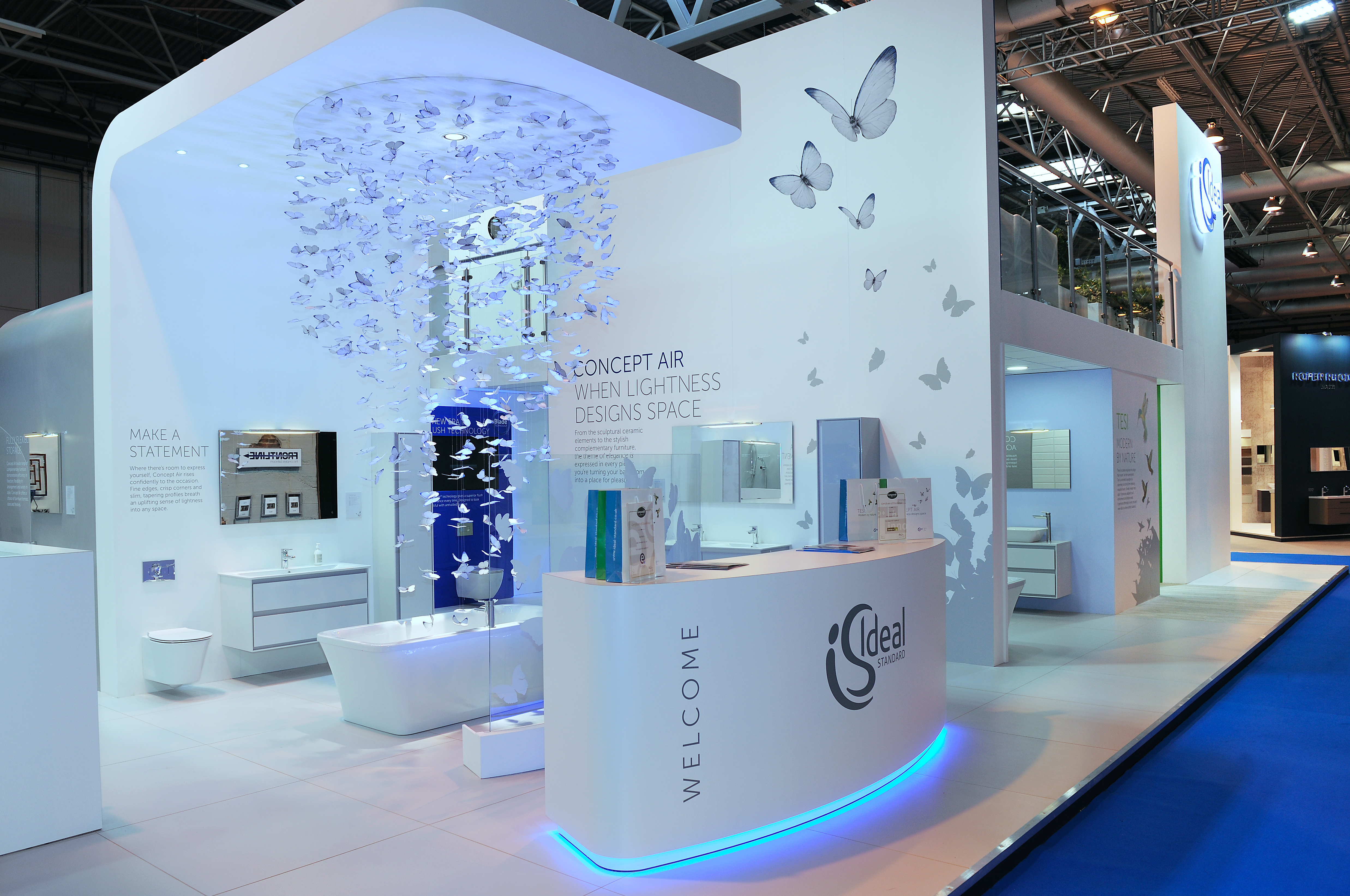 Modern Exhibition Stand Builders : How a perfect exhibition stand design can help to attract visitors