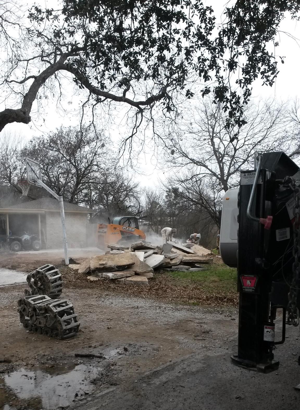 Demolition of Existing Concrete