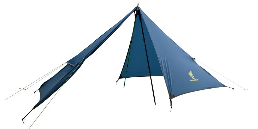 Geertop Pyramid Peak Tent Pitching Instruction Camping