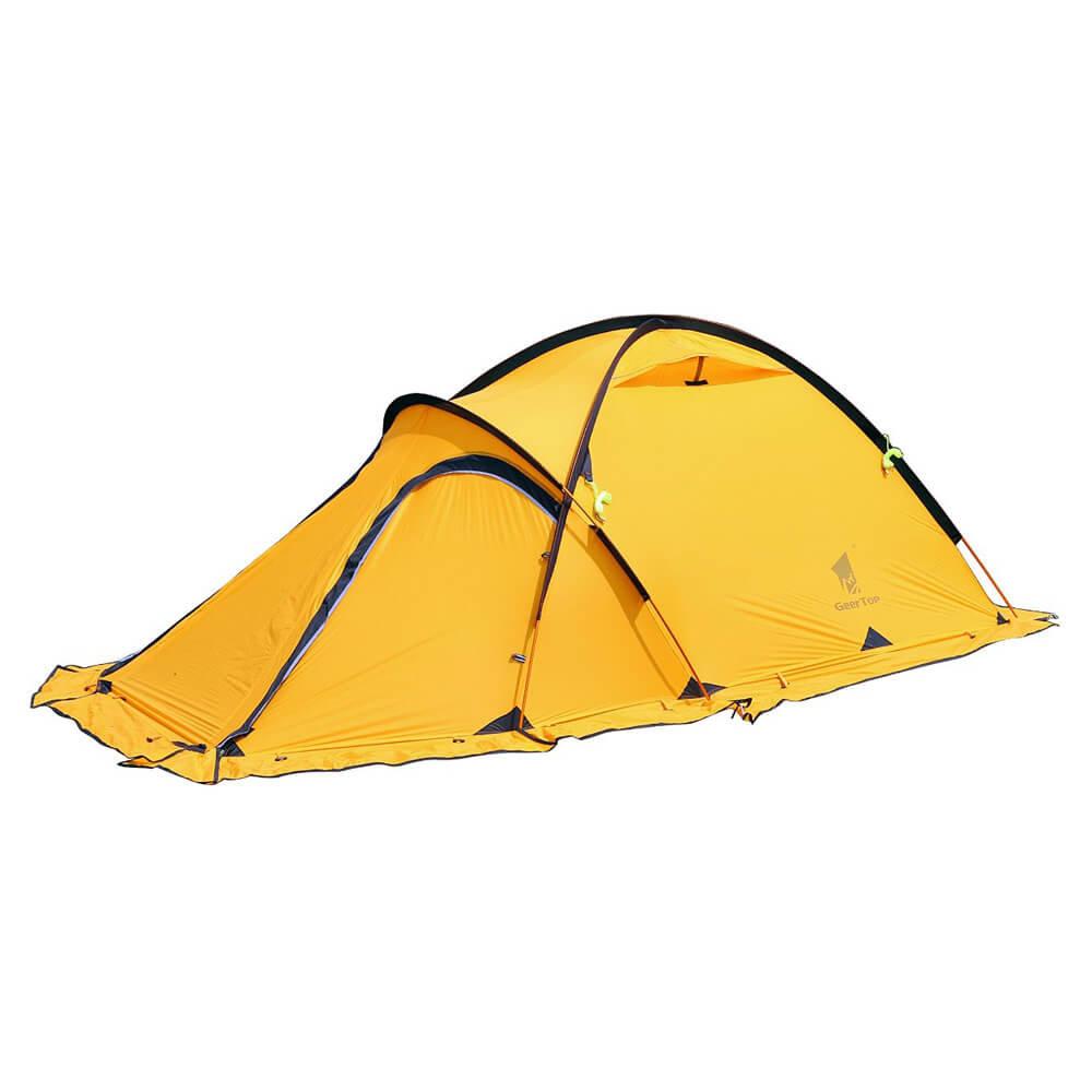 low priced 464f4 ae299 GeerTop Navigator 2Plus 2 Person 4 Season 20D Lightweight Winter Tent