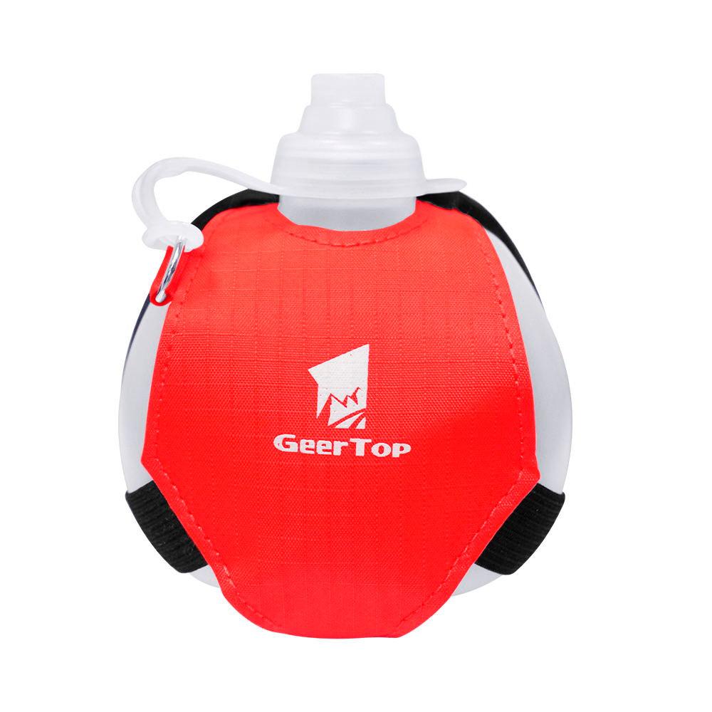 GeerTop Hands-free Water Bottle 7 oz Hydration Sports with Adjustable Strap  | geertop