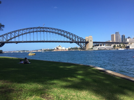 Sydney Harbour from Blues Point