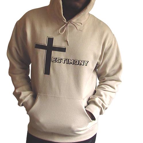 Testimony Hoodie - Black Type - Various Colors