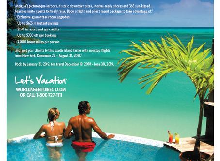 Ad For Antigua