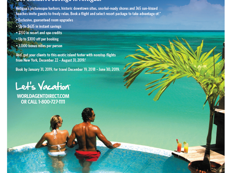 Ad For Antigua