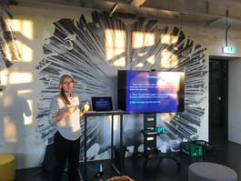 Running design audit event, Berlin, 2019