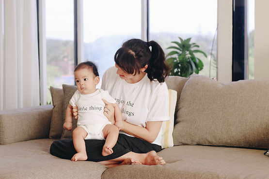 enjoy the little things matching mum and baby outfit singapore