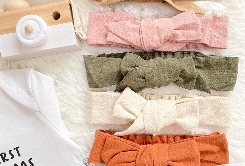 Linen Cotton Headbands (100% Cotton)