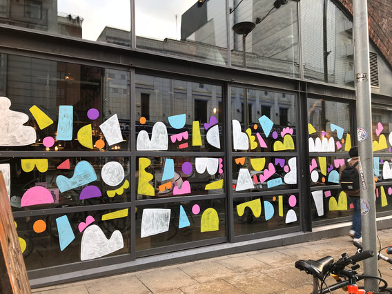 Window mural for SHE PWR