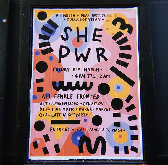 SHE PWR poster