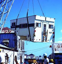 At the Colon docks, Panama