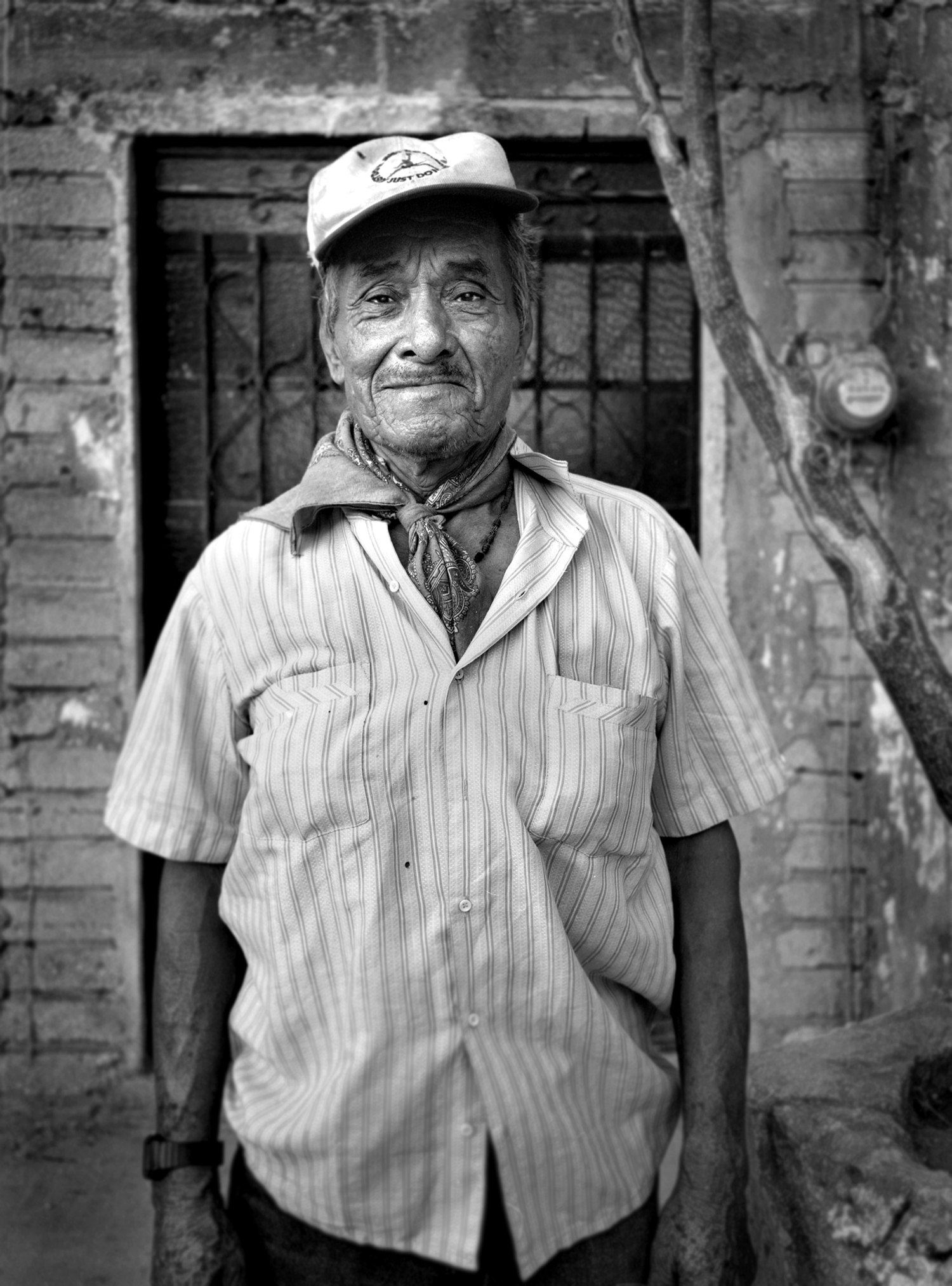 Street portrait, Guatemala