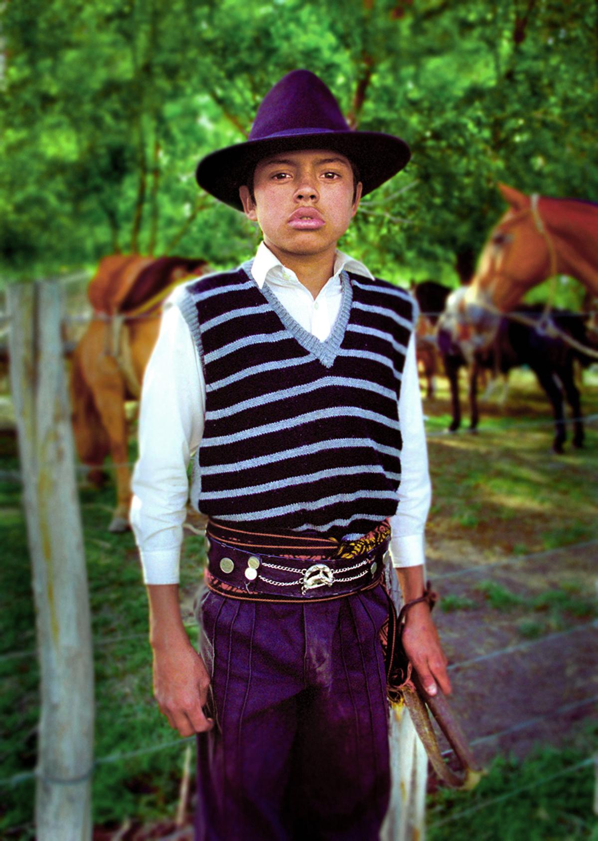 Young gaucho