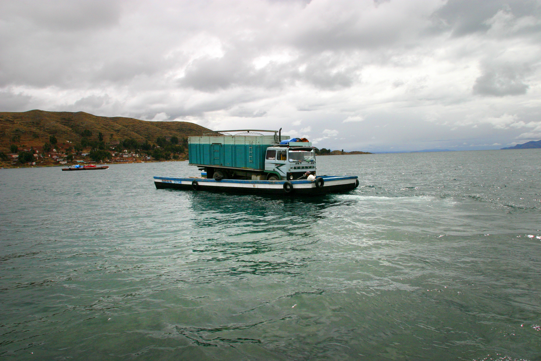 Lake Titicaca ferry