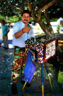 Street photographer, Nicaragua