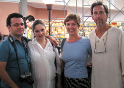 With Arnoldo and Mariamalia