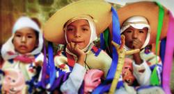 Dancers in Patzcuaro, Mexico
