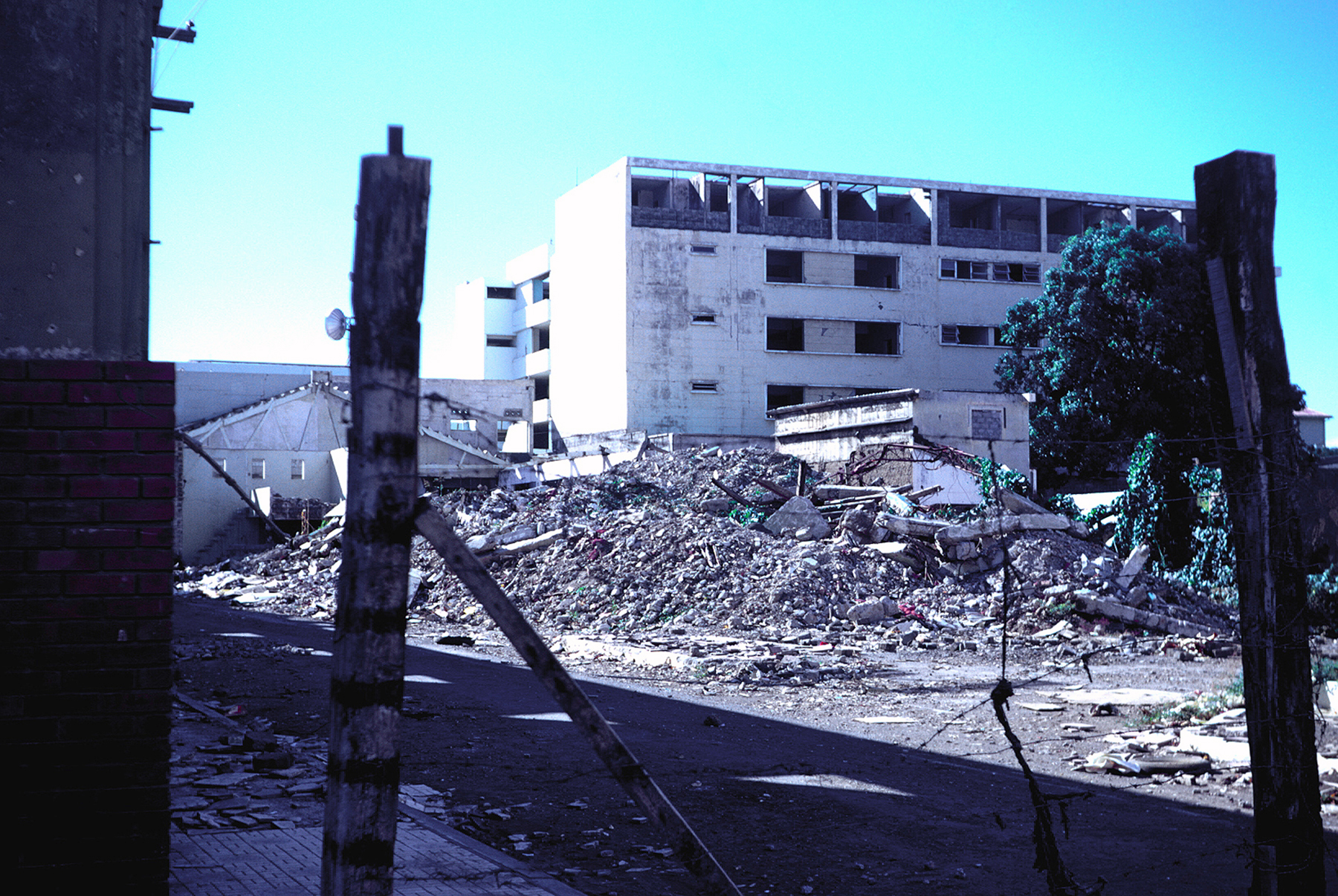Earthquake damage in Nicaragua