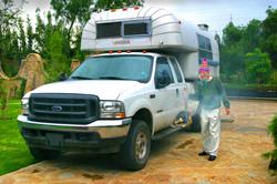 Don blessing camper