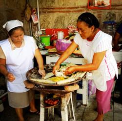 Lunchtime in Oaxaca