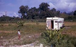 Jungle camping in Central America