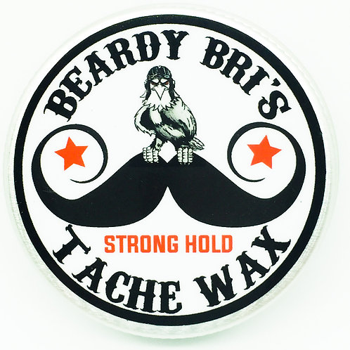 Beardy Bri's strong-hold moustache wax