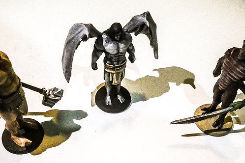 3 Meteor Tales Miniatures.