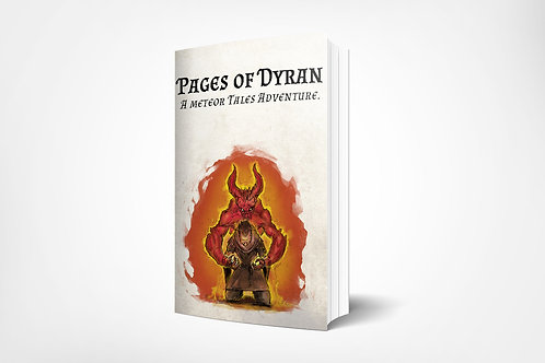 Pages of Dyran - A Meteor Tales Adventure