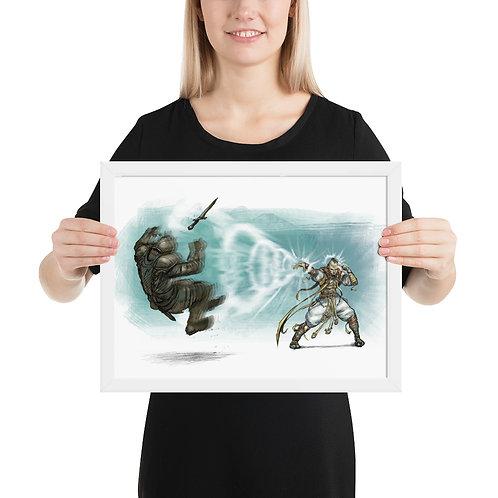 Meteor Tales #1 - Framed poster