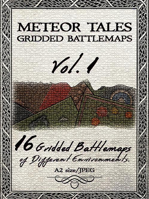 Meteor Tales - Gridded Battlemaps Vol.1