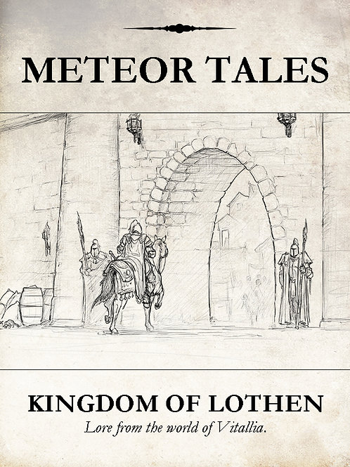 Kingdom of Lothen - Lore Book