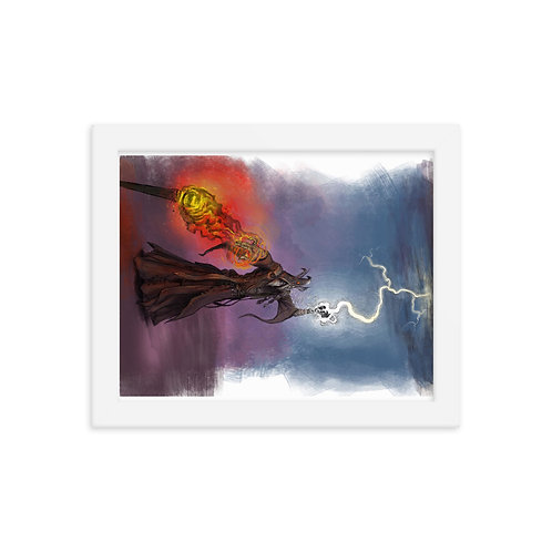 Meteor Tales #5 - Framed poster