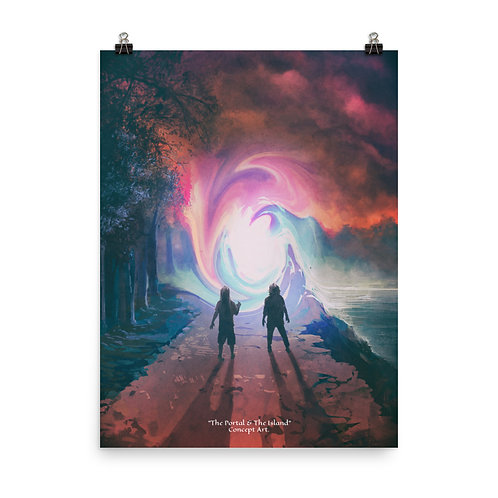 The Portal & The Island - Poster