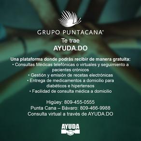 """Grupo Puntacana auspicia plataforma """"Ayuda.do"""""""