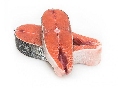 Кета стейк весовой вакуум ~700гр (цена за кг)